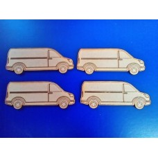 Laser cut Van  75mm
